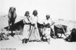 Beduini din perioada de dinaintea descoperirii petrolului