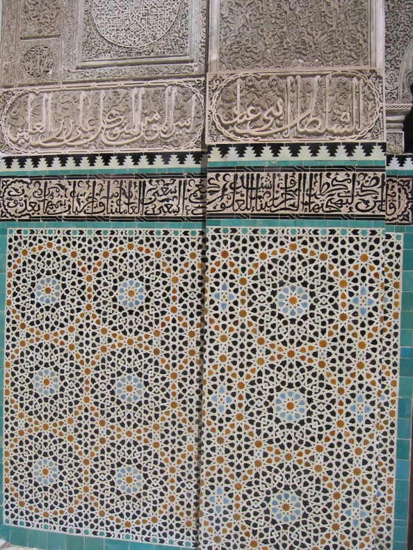 Fes_Medersa_Bou_Inania_Mosaique2